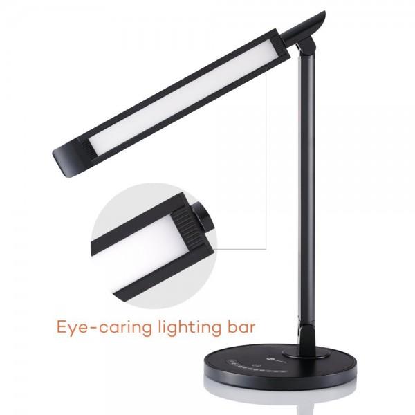 Lampa de birou LED TaoTronics TT DL13 control Touch, 5 moduri, Protectie Ochi. 2