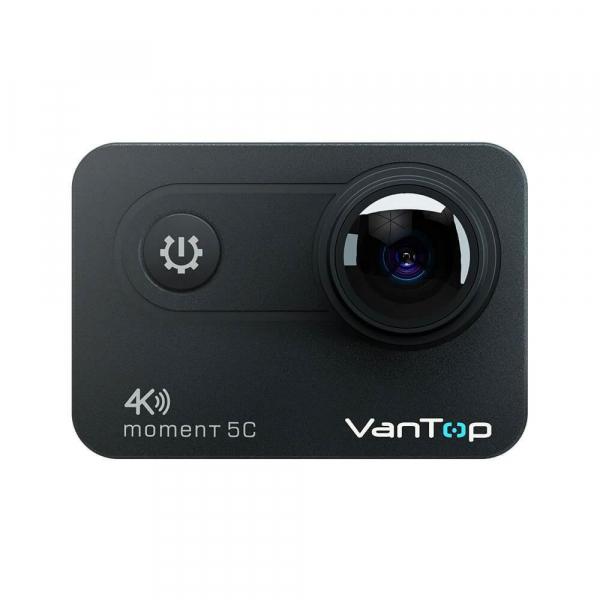 Camera video sport VanTop Moment 5C, 4K/60fps, Senzor Sony IMX078,  Wi-Fi, Stabilizator imagine, Touch Screen, 2 Acumulatori [1]