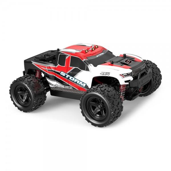 Masina cu Telecomanda Linxtech HS18301 Monster Truck de mare viteza, Off-Road Racing Tractiune 4X4, 36Km/h Scala 1:18 2