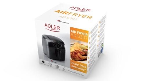 Friteuza Adler AD 6307 pentru prajit cartofi si delicatese, putere 1500W, capacitate 2L 2