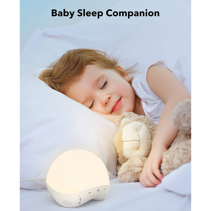 Lampa de veghe Smart TaoTronics TT-CL023, RGB, control din telefon, 25 de sunete, control Alexa si Google [3]