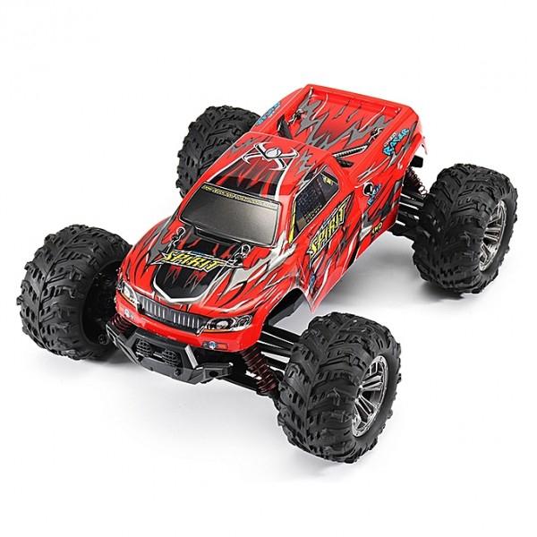 Masina cu Telecomanda XinLeHong 9130 Monster Truck 32km/h, Off-Road Racing Tractiune 4X4, Scala 1:16 3
