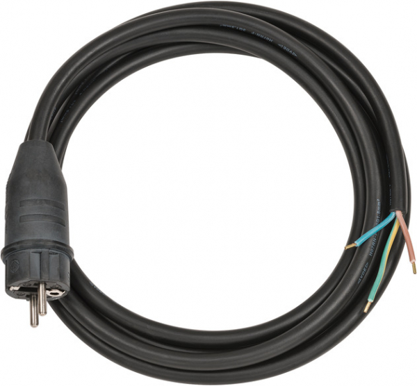 Cablu de conectare Brennenstuhl IP44 3m black H07RN-F 3G1,5 [0]