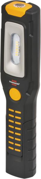 Lanterna de Lucru LED Brennenstuhl Multifunctionala, 300 Lumeni, Reincarcabila, Sistem de agatare, Magneti puternici, functionare 10 ore [0]
