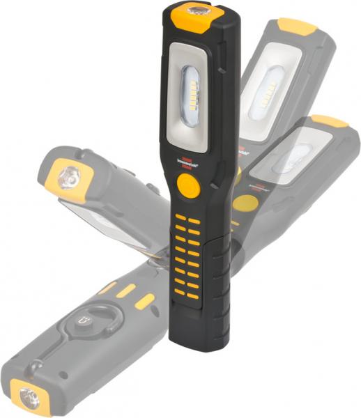 Lanterna de Lucru LED Brennenstuhl Multifunctionala, 300 Lumeni, Reincarcabila, Sistem de agatare, Magneti puternici, functionare 10 ore [3]