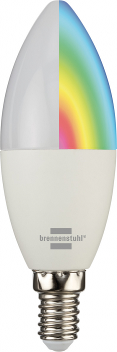 Bec LED RGB Smart Brennenstuhl E14, Control din aplicatie 0