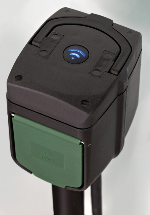 Priza dubla de gradina Brennenstuhl Connect WIFI, IP44, cablu 10 m, Tarus, Control aplicatie, Alexa si Google Assistan [2]