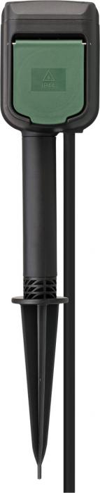 Priza dubla de gradina Brennenstuhl Connect WIFI, IP44, cablu 10 m, Tarus, Control aplicatie, Alexa si Google Assistan [3]