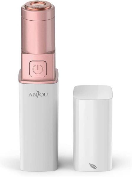 Trimmer facial femei Anjou AJ-PCA024, pentru mustata, parul facial, baterie reincarcabila [0]