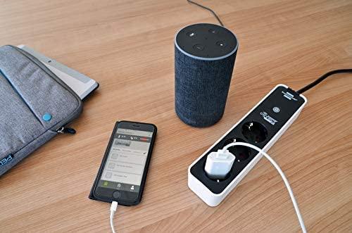 Prelungitor Smart Brennenstuhl Connect Ecolor WiFi, Alexa, Google [2]
