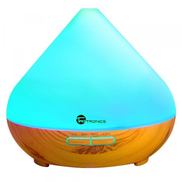 Pachet Difuzor aroma cu Ultrasunete TaoTronics TT-AD002, cu Set 6 uleiuri esentiale 1