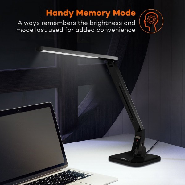 Lampa de birou LED TaoTronics TT-DL01 control Touch, 4 moduri, 14W, USB [4]