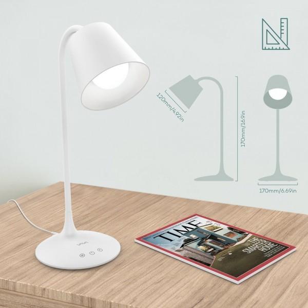 Lampa de birou LED VAVA VA-DL29, 3 modri de lumina, cu reglare touch a Intensitatii 4
