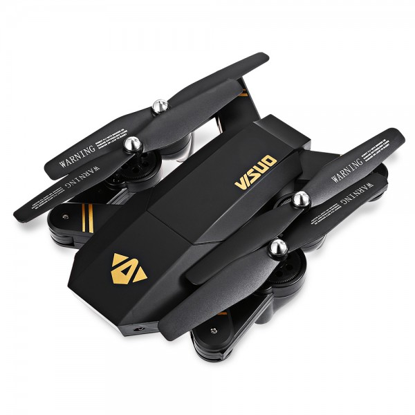 Drona Visuo XS809HW Camera 2Mp cu transmisie pe telefon, altitudine automata, brate pliabile 4