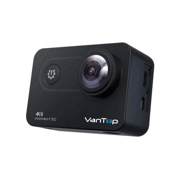 Camera video sport VanTop Moment 5C, 4K/60fps, Senzor Sony IMX078,  Wi-Fi, Stabilizator imagine, Touch Screen, 2 Acumulatori [4]