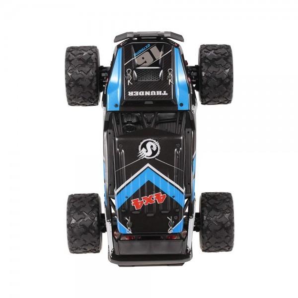 Masina cu Telecomanda Linxtech HS18311 Monster Truck de mare viteza, Off-Road Racing Tractiune 4X4, 36Km/h Scala 1:18 - Albastru 4