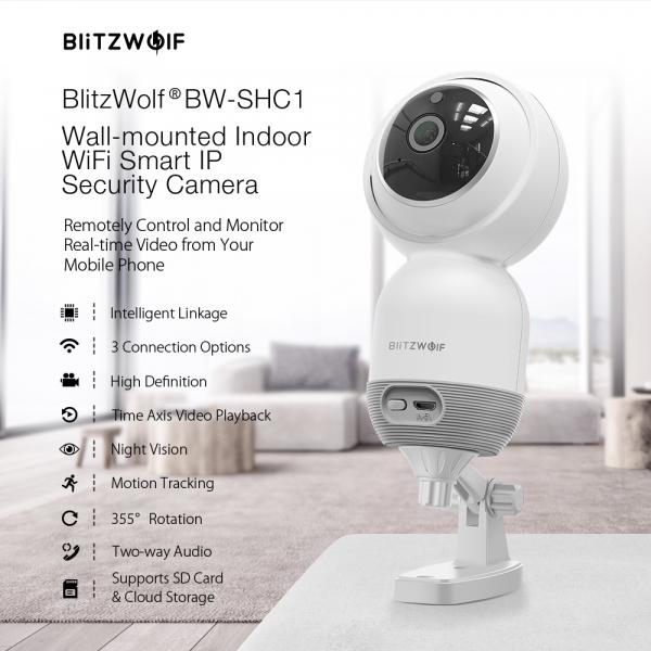 Camera de supraveghere IP- WI FI 1080P, Detectare micare, Infrarosu, 2Mp, Conectare Telefon [4]