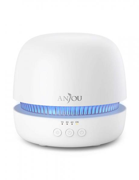 Difuzor aroma terapie Anjou AJ-ADA019, 300ml, LED 7 culori, BPA free, oprire automata [1]