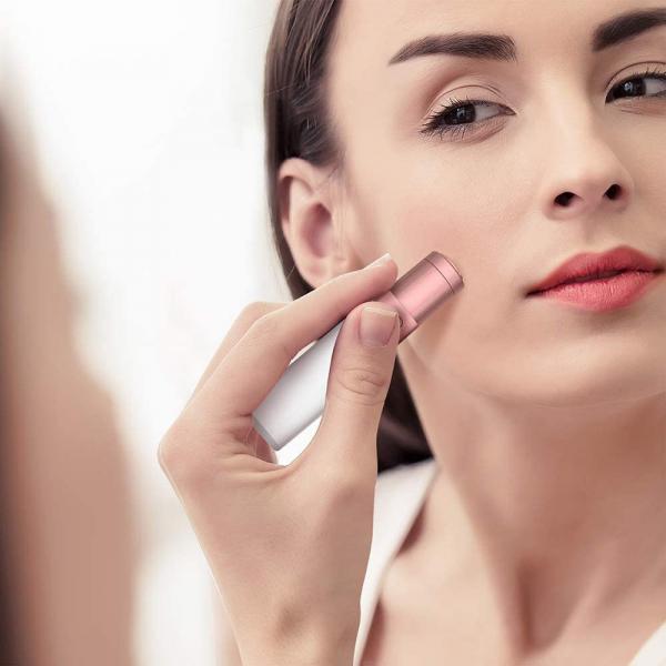 Trimmer facial femei Anjou AJ-PCA024, pentru mustata, parul facial, baterie reincarcabila [1]