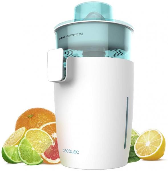 Storcator de citrice Cecotec Zitrus TowerAdjust Easy, 350W filtru pulpa reglabil, BPA free, Alb 3