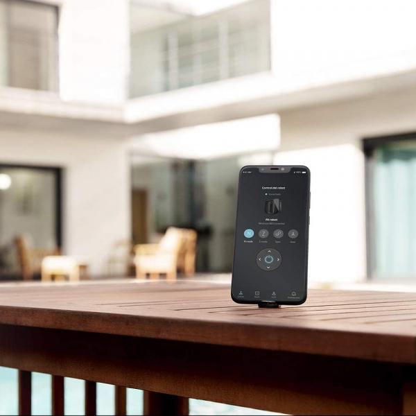 Robot curatare geamuri Cecotec Conga WinDroid 980 Connected, Aplicatie Smartphone, Telecomanda, Stergere uscata si umeda,  5 moduri de curatare [2]
