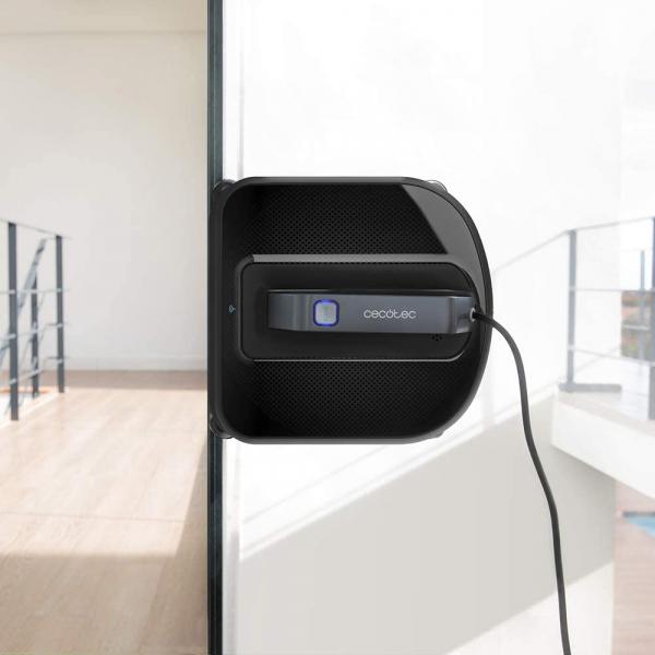 Robot curatare geamuri Cecotec Conga WinDroid 980 Connected, Aplicatie Smartphone, Telecomanda, Stergere uscata si umeda,  5 moduri de curatare - Resigilat [1]