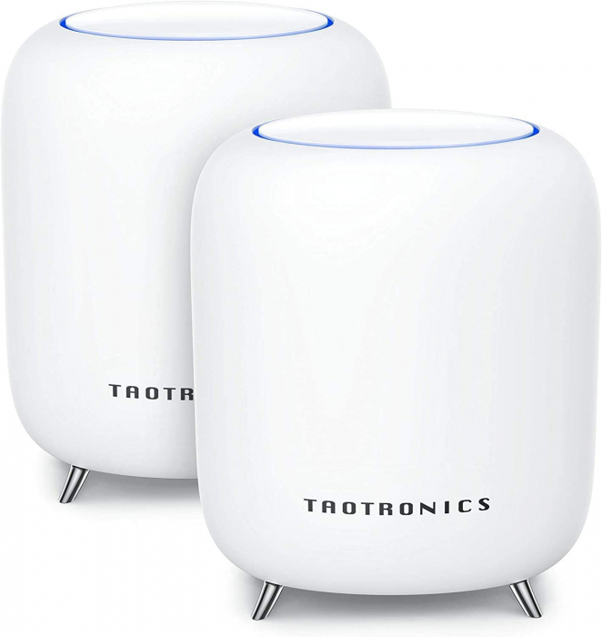 Sistem Wi-Fi Mesh Taotronics Tri-Band (2-pack) AC3000 Gigabit cu acoperire completa pentru casa 0