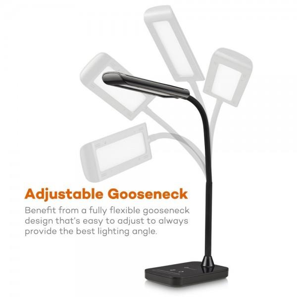 Lampa de birou LED TaoTronics TT-DL11 control Touch, 5 moduri, protectie ochi, 7W 5