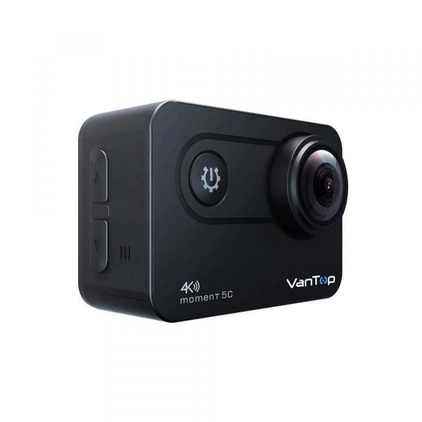 Camera video sport VanTop Moment 5C, 4K/60fps, Senzor Sony IMX078,  Wi-Fi, Stabilizator imagine, Touch Screen, 2 Acumulatori [5]
