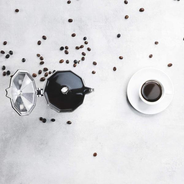 Cafetiera Cecotec Mimoka 600, 300 ml, 6 cani de cafea, inductie, Bej [4]