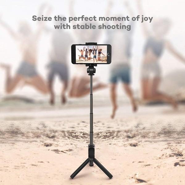 Selfie Stick Tripod TaoTronics TT-ST002, 3 in 1 cu Telecomanda Bluetooth detasabila 4