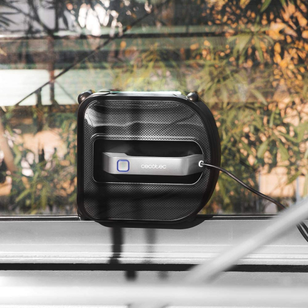 Robot curatare geamuri Cecotec Conga WinDroid 980 Connected, Aplicatie Smartphone, Telecomanda, Stergere uscata si umeda,  5 moduri de curatare [3]