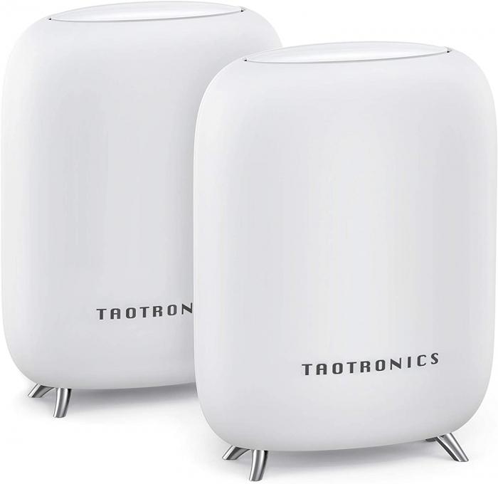 Sistem Wi-Fi Mesh Taotronics Tri-Band (2-pack) AC3000 Gigabit cu acoperire completa pentru casa 11