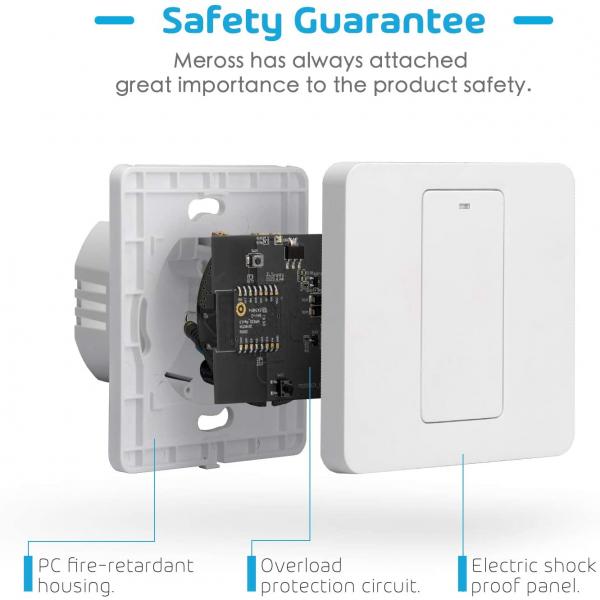 Intrerupator Smart Meross MSS51 WiFi 1