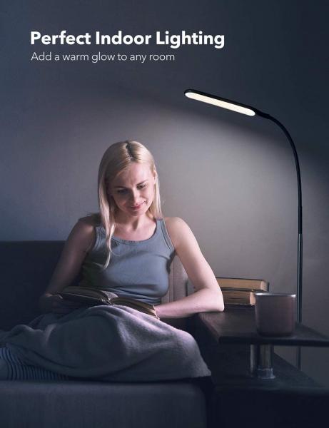 Lampa de podea LED TaoTronics TT-DL072, ajustabile 4 culori de culoare, 4 niveluri de luminozitate [3]