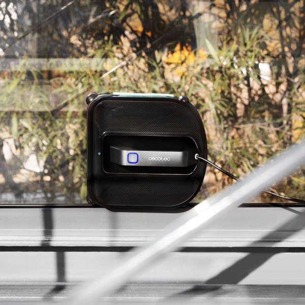 Robot curatare geamuri Cecotec Conga WinDroid 980 Connected, Aplicatie Smartphone, Telecomanda, Stergere uscata si umeda,  5 moduri de curatare [7]