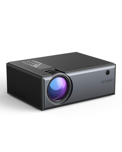 Videoproiector BlitzWolf BW-VP1, 2800 Lumens, Native 720p, LED, HDMI, VGA, AV, USB 1