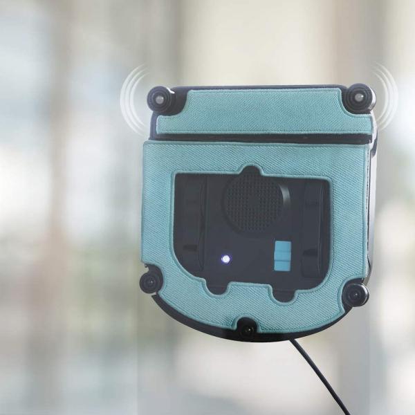 Robot curatare geamuri Cecotec Conga WinDroid 980 Connected, Aplicatie Smartphone, Telecomanda, Stergere uscata si umeda,  5 moduri de curatare [8]
