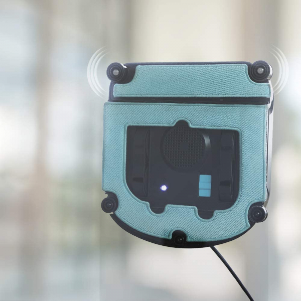 Robot curatare geamuri Cecotec Conga WinDroid 980 Connected, Aplicatie Smartphone, Telecomanda, Stergere uscata si umeda,  5 moduri de curatare - Resigilat [8]