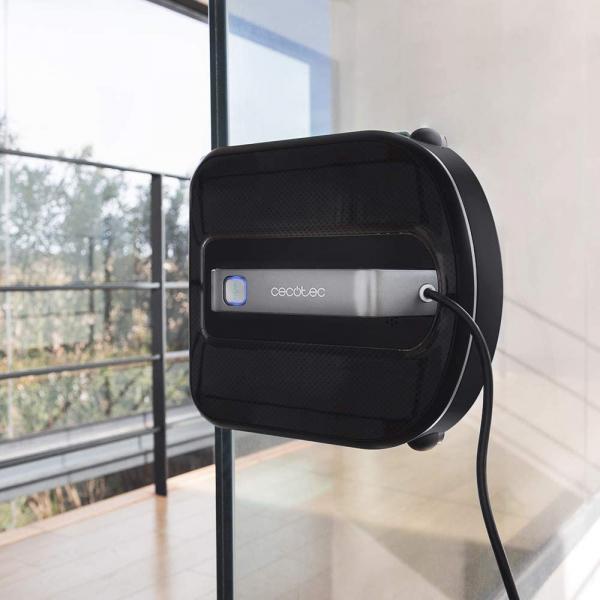 Robot curatare geamuri Cecotec Conga WinDroid 980 Connected, Aplicatie Smartphone, Telecomanda, Stergere uscata si umeda,  5 moduri de curatare [10]
