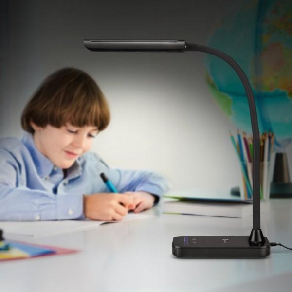 Lampa de birou LED TaoTronics TT-DL11 control Touch, 5 moduri, protectie ochi, 7W 6