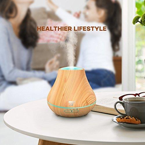Difuzor Aroma terapie TaoTronics TT-AD004, 400ml, 13W, 14 ore [6]