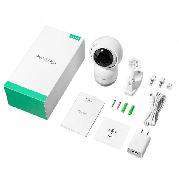 Camera de supraveghere IP- WI FI 1080P, Detectare micare, Infrarosu, 2Mp, Conectare Telefon [6]