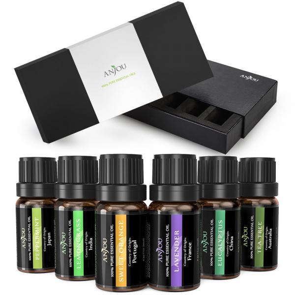 Pachet Difuzor aroma cu Ultrasunete TaoTronics TT-AD007, cu Set 6 uleiuri esentiale Anjou [4]