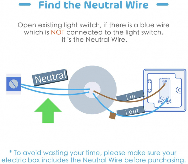Intrerupator Smart Meross MSS51 WiFi 2