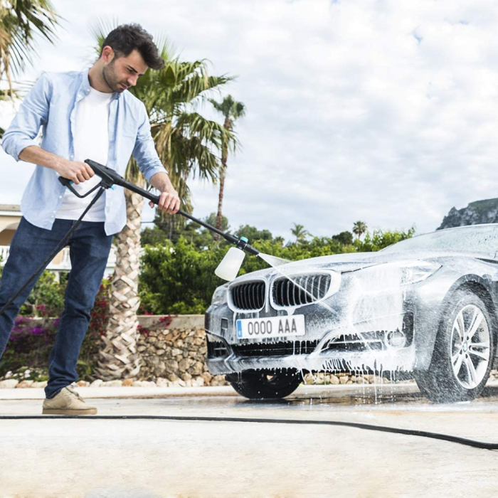 Aparat de spalat cu presiune Cecotec HidroBoost 2400 Home&Car, Accesorii incluse, 180 BAR, 480 L/h ,2400 W [1]