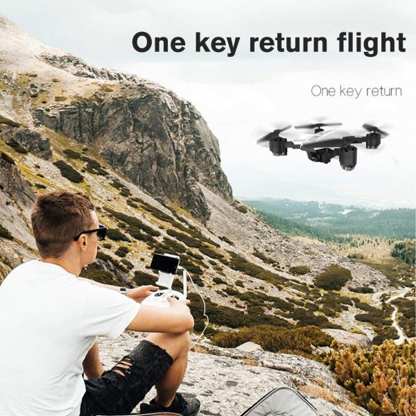 Drona KK12 GPS,  camera 1080p cu transmisie Wifi pe smartphone, Geanta transport 11