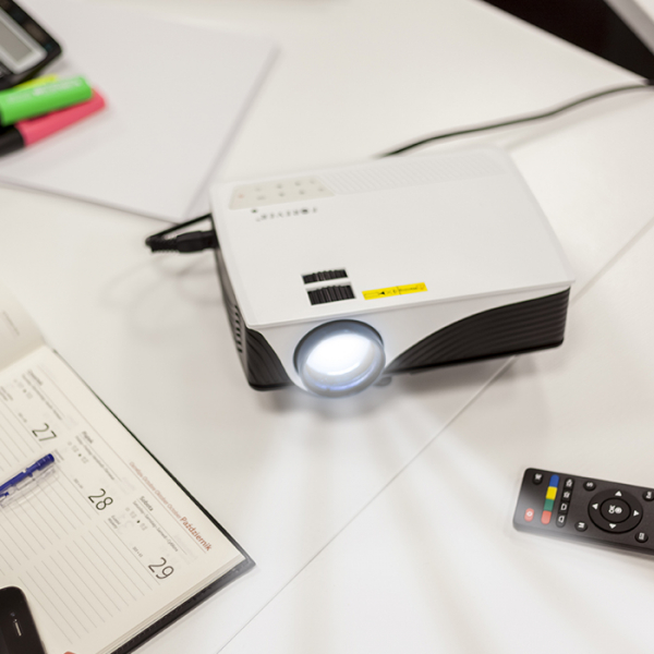 Video proiector LED Forever MLP-100 cu Wifi si Android, [1]
