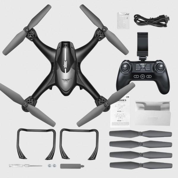 Drona SJRC S30W GPS , Folow Me, camera 1080p cu transmisie live pe telefon 7