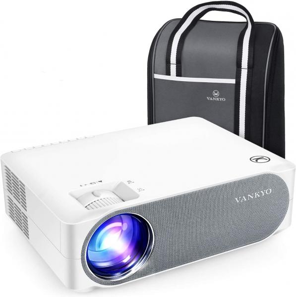 Videoproiector VANKYO Performance V630, 6000 Lumeni, Native 1080p, LED, HDMI, VGA, AV, USB, Geanta de transport, Telecomanda, Cablu HDMI [0]